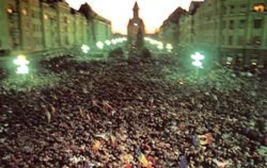 Piata Victoriei : Fall of communisim in Romania