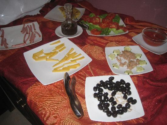 Palais Riad Batoul : Desayuno buffet