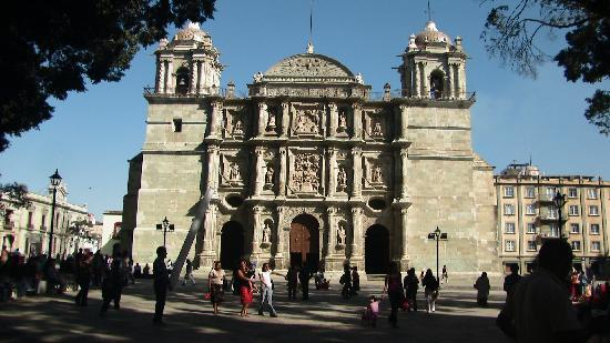 Monte Alban: Cathedral, Oaxaca