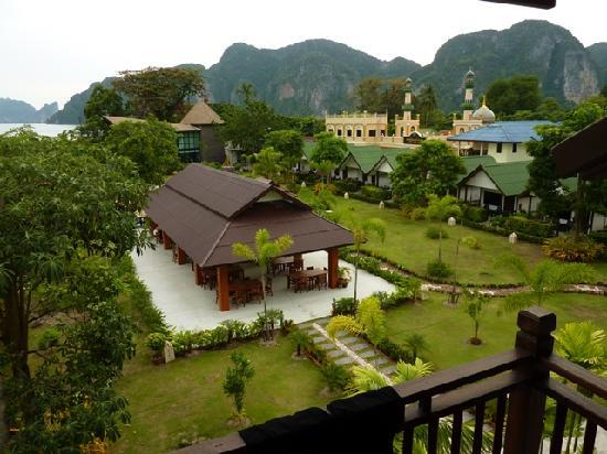 Phi Phi Andaman Legacy: View of Andaman grounds from our balcony