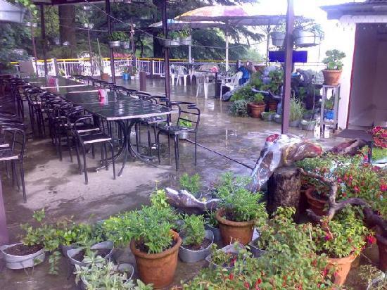 Hotel City Heart: terrace