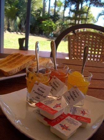 Grasstree Beach Bed & Breakfast: Best breakfast in Australia