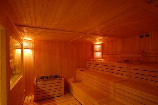 Klas Hotel: sauna