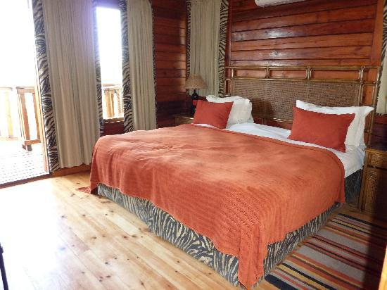 Kariega Game Reserve: one of the bedrooms
