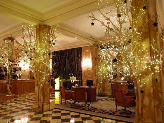 Hotel de Crillon: ロビー