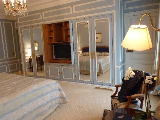 Hotel de Crillon : 部屋