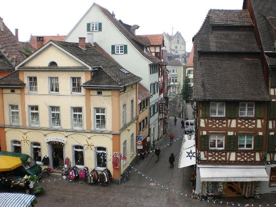 Gasthof zum Baren: View of the Square below