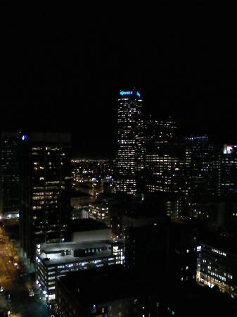 Brooks Tower Furnished Apartments at 16th Street Mall: Another night view