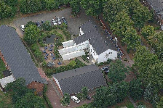 Werneuchen, Almanya: Luftbild vom Annenhof