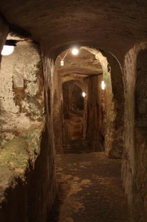 Krypta, Katakomben und Museum St. Agatha: De St Pauls catacomben in Rabat