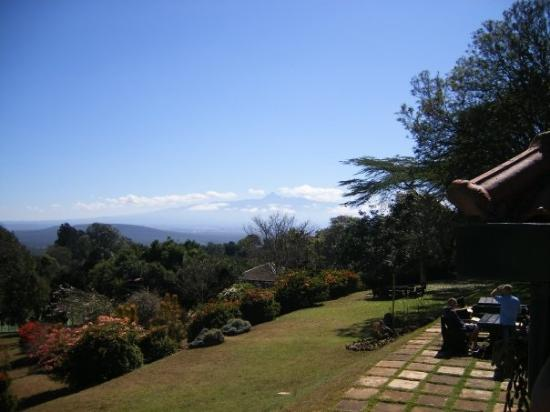 Aberdare National Park, Kenia: View from the Aberdare country club, not bad!