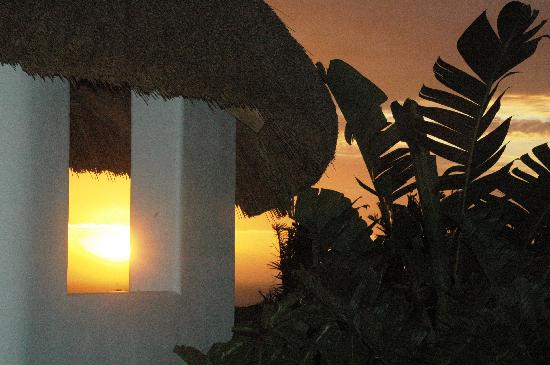 """Camps Bay Ridge Guest House: The """"Palapa"""" at sunset"""