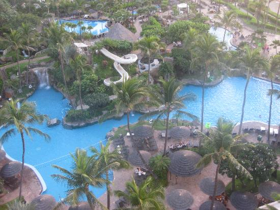 The Westin Maui Resort & Spa: Pool view from room