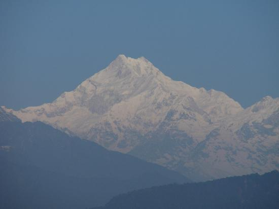 Rhenock House: Kanchenzonga from view point in Gangtok