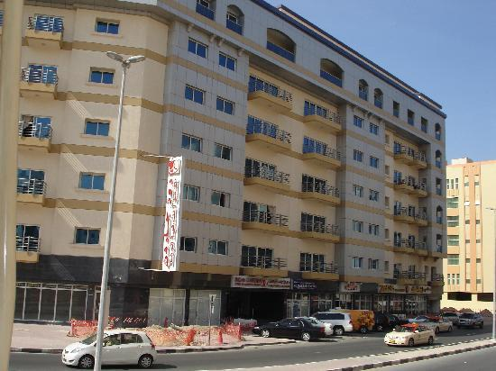 Rose Garden Hotel Apartments Al Barsha Foto Do