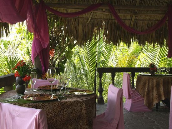 Maruba Resort Jungle Spa: Jungle Treehouse Dining