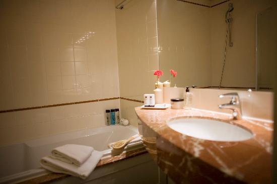 Htel Amstelveen: Bathroom
