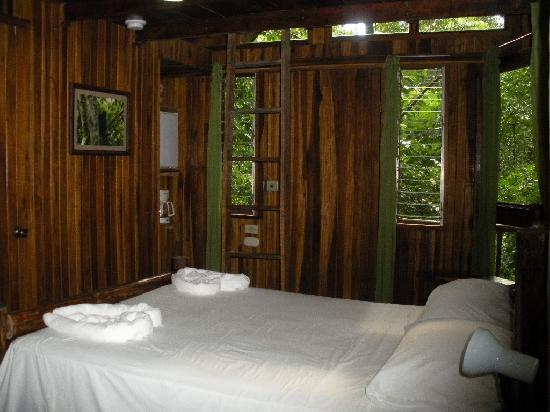Tree Houses Hotel Costa Rica: living space