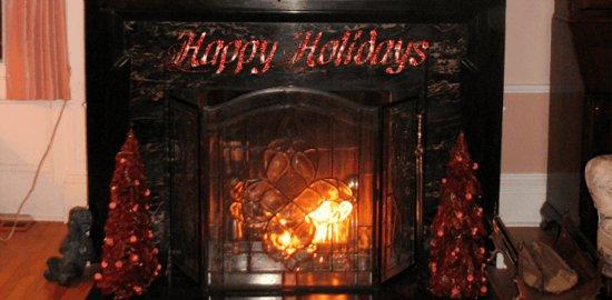 Bykenhulle House B&B: Happy Holidays from the Bykenhulle House