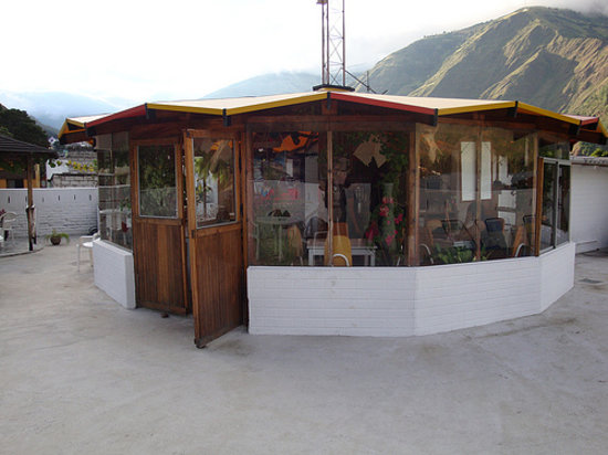 Plantas & Blanco's Hostel : The roofterrace