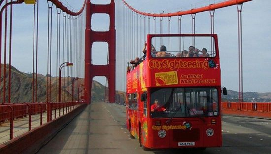 City Sightseeing: Across the Bridge