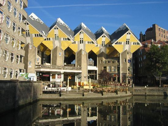 Kijk-Kubus (Show-Cube): Cube-houses Rotterdam (Old harbour)