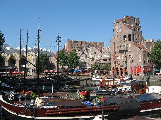 Kijk-Kubus (Show-Cube): Old harbour Rotterdam