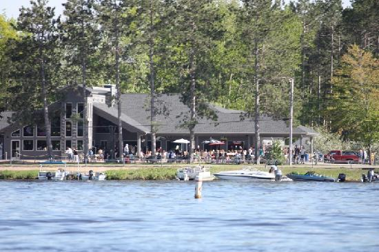 Anchor Bay Bar & Grill: View from the water