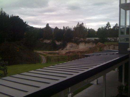 Hilton Lake Taupo: View from a junior suite - no JS have lake views