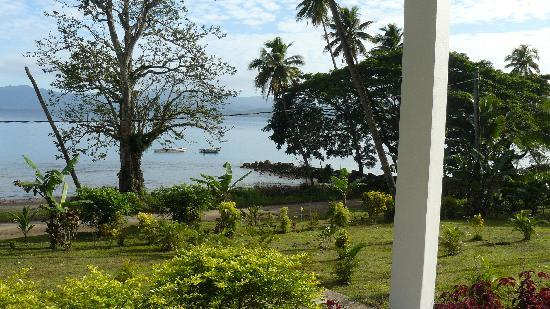 Daku Resort: View from the Villa