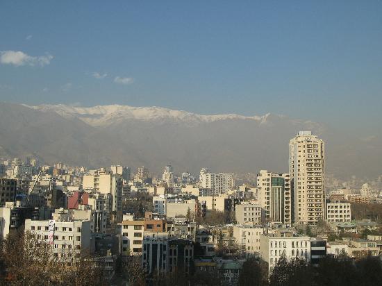 Parsian Esteghlal International Hotel: Blick vom Balkon
