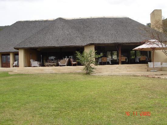 Blaauwbosch Private Game Reserve: Main lodge