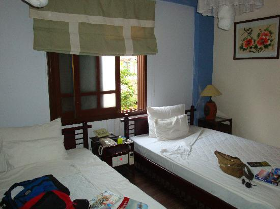 An Huy Hotel: An Huy - nice beds!
