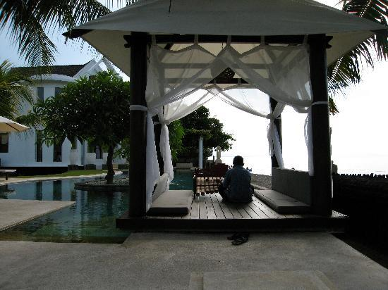 Villa Simha Bali: Backgroundmusik aus dem Bale