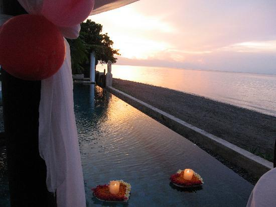 Villa Simha Bali: Dinner for two