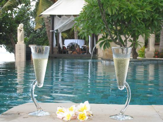 Villa Simha Bali : Am Pool