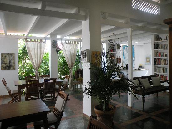 Posada Acuarela: Area de estar