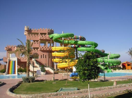 LTI Akassia Beach : parc aquatique