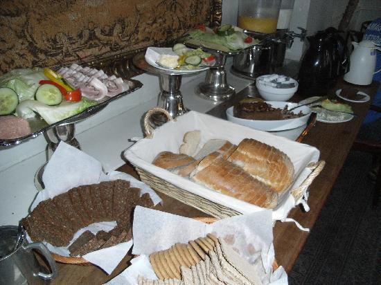 Hotel Jorgensen: 朝食