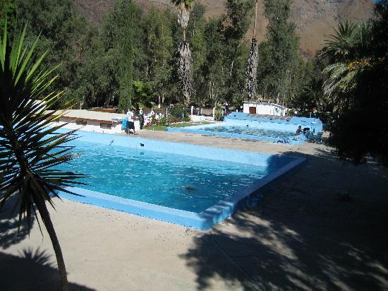 Rancho Agua Caliente: 2 hot spring pools