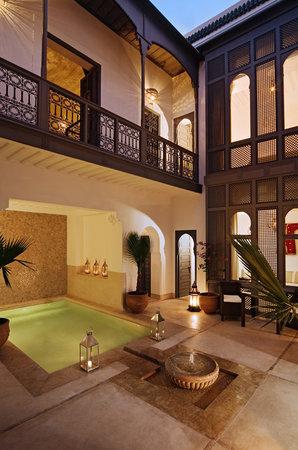Riad Adore: Courtyard