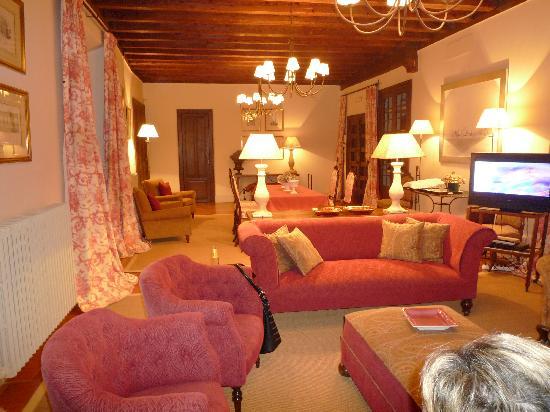 Caserio de Lobones: salon