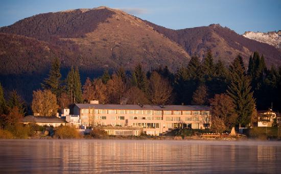 El Casco Art Hotel: Desde El Lago al atardecer