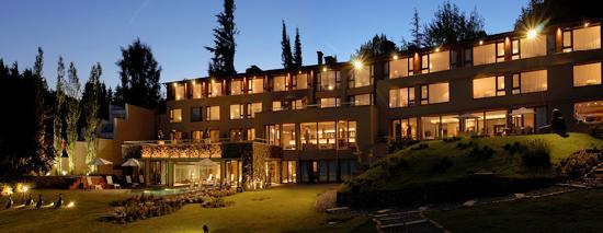 El Casco Art Hotel: Vista desde el jardín