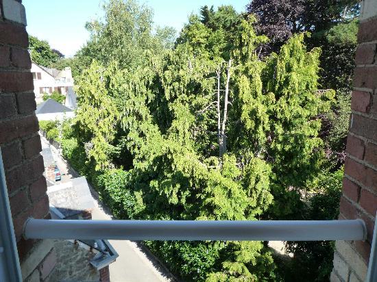 Hotel du Parc des Tourelles : Backyard