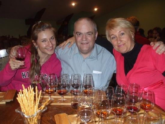 Massandra: The best part of the tour is sampling the wines