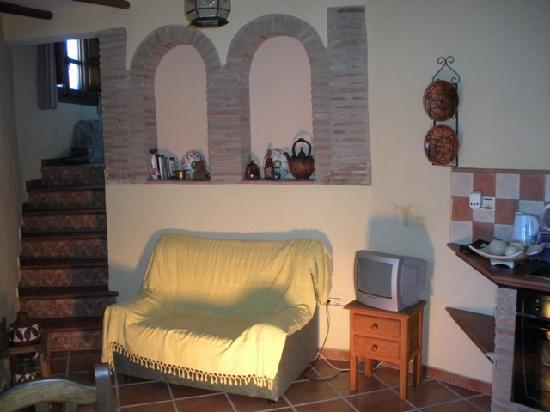 Casas de Montejaque: Esta es la entrada a la casa, que esta junto a la cocina