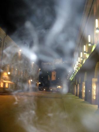 Grosses Festspielhaus: Salzburg by night :-)