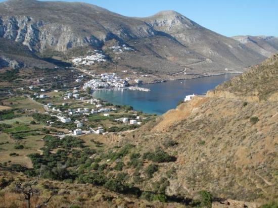 Aegiali bästa byn på Amorgos