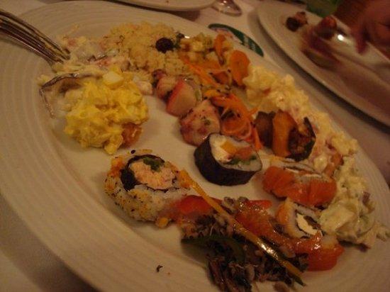 Porcão Ipanema : From the salad bar...